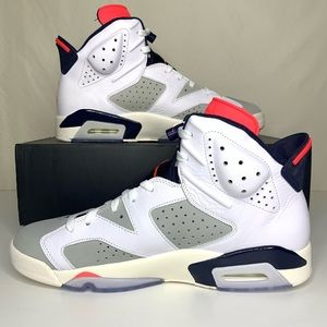 Air Jordan Retro 6 Tinker White Infrared 23 NEW